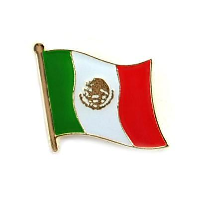 - MEXICO FLAG LAPEL PIN 0.5