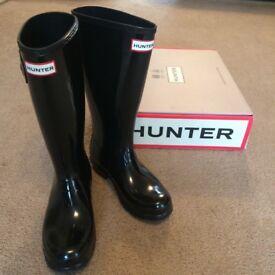 Hunter Wellies -Size 4