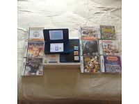 LOOK BLUE NINTENDO DSI XL BOXED WITH 13 GAMES BARGAIN