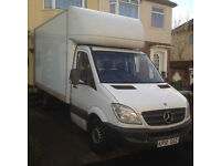 Mercedes Luton van with tail lift for sale