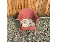 Lloyd Loom wicker chair