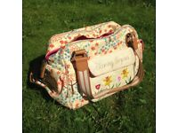 Blooming Marvellous Pink Lining Changing Bag