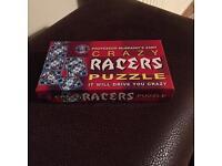 Crazy racers puzzle