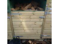 Cubic meter of unseasoned oak Firewood