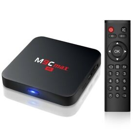 Bqeel M9C Max smart Tv box, 2GB ram, 16GB storage.