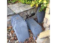 Greys artstone roof slates