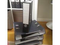 A4 Lever Arch Folders Matt Black (brand new) £3 the lot