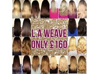SPECIAL OFFER!! 140g LA WEAVE - ONLY £160!! (Other methods of hair extensions also available)