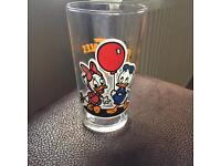 Duck tails glass