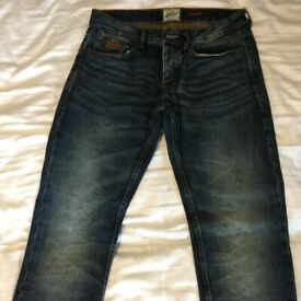 Superdry Mens Loose Jeans (30 inch Waist) - Brand New