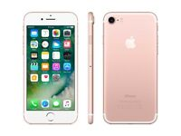 *Excellent* Apple iPhone 7 Rose Gold 32GB LTE/4G latest iOS 11.2 - Vodafone UK