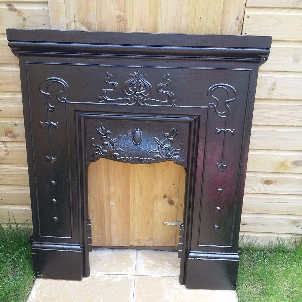 victorian fireplace surround u0026 mantle in aylesford kent gumtree