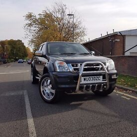 Stunning, solid and low priced 2003 Isuzu Rodeo 4X4 double cab, Automatic, full leather