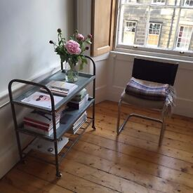 Vintage Metal Trolley - Excellent Condition, very light use. Cox & Cox sell this trolley for £170!