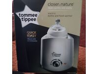 Tommee tippee closer to nature bottle & food warmer