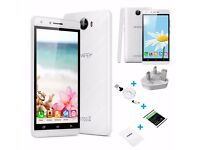 5'' Android 5.1 Uhappy V5 Quad Core 8GB 8MP Mobile Smartphone 3G Dual SIM GPS UK