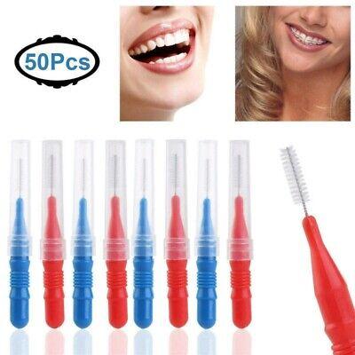 50Pz Scovolini interdentali da 2,5 mm per la pulizia dei denti e l'igiene