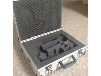 Aluminium camera/accessory case