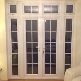 Anglian French Patio Doors UPVC
