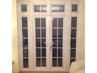 Anglian French Patio Doors UPVC