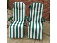 Pair of Sunloungers