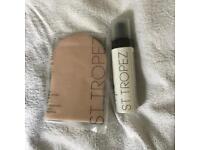 San Tropez gradual tan body mousse and application mit