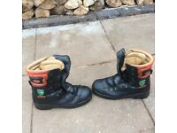 Chainsaw boots size 11