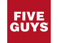 Crew Members - Five Guys new opening. £7.20 - £8.50 + shift bonus.