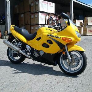 2001 suzuki GSX600FK1 Katana 10241 MILES