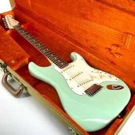 2015 Fender Jeff Beck American Stratocaster – Surf Green - Trades