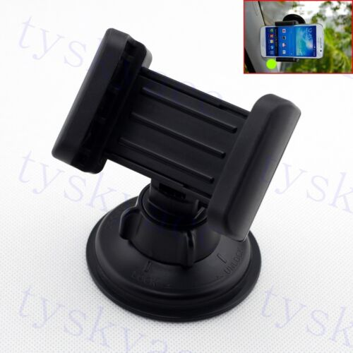 Universal Mobile Cell Phone Mount Cradle Holder Grip Black Style Car Accessories