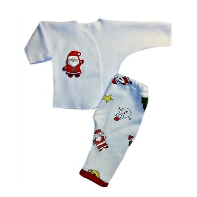Adorable Santa Claus Christmas Pants and Shirt Outfit - Baby Santa Claus Outfit
