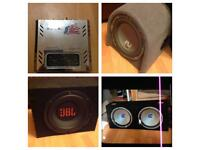 Offers Subwoofer bass and amp