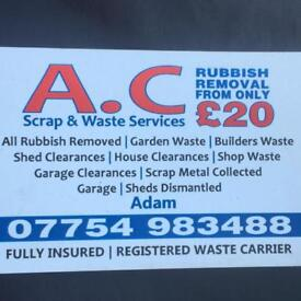 🚚 Rubbish Removal From £20 Call Adam On 07754983488 🚚♻️♻️♻️