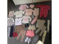 9-12m Baby Girls Clothes
