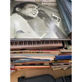 Job lot of jazz vinyl