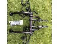 Saris Bones 3 Bike Rack (and 2x hatch huggers)
