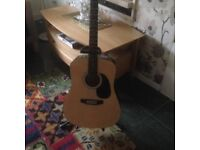 Squire acoustic guitar