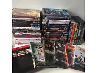Job lot DVDs horrors , thrillers, classics