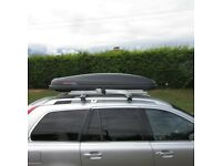 1/2 price. Kamei Husky Roof Box with roof rails. Emigrate on the 23rd. Must go!!!