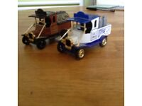 2 Coop Tea Collectors' Toy Vehicles