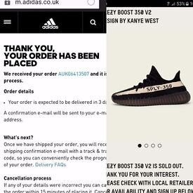 yeezy boost 350 v2 new release black/white