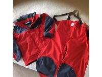 FOR SALE Ladies and Gents foul weather sailing suits.