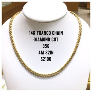 Heavy Gold Chains 10k, 14k, 18k & 22k