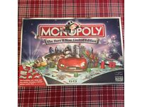 Monopoly Here & Now Limited Edition Board Game excellent condition Family Game