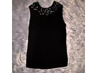 Size 12 Zara top with gems