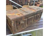 Ammunition box with tools