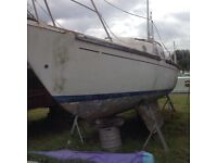 Westerley 21ft sailing boat project
