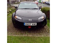 BLACK CABRIOLET MAZDA .M X 5 FOR SALE EXCELLENT Condition 5