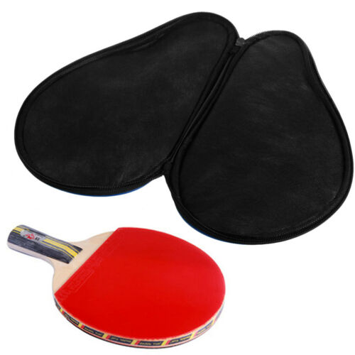 The Cheapest Price New Portable Waterproof Table Tennis Racket Case Bag For 2 Ping Pong Paddle Bat High Standard In Quality And Hygiene Desk Accessories & Organizer